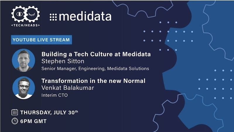 MeetUp talk: Building a Tech Culture at Medidata